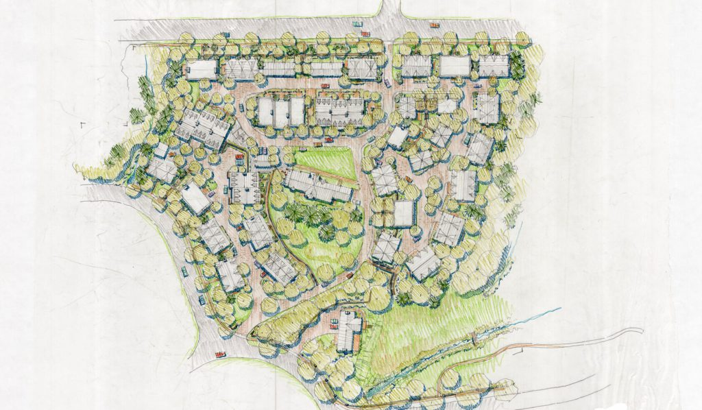 <span>PINECREST SITE PLAN</span><br />