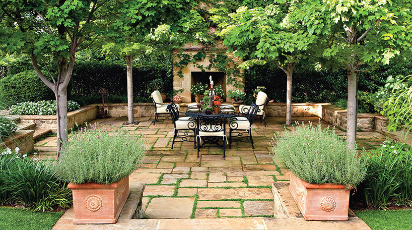 <span>COURTYARDS</span><br />Private Spaces • Classic Design